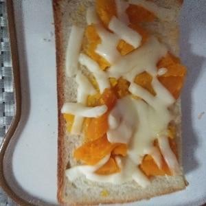 惣菜でピザトースト