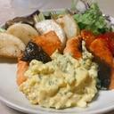 鮭とかぶと舞茸のソテー