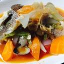 野菜たっぷり!トマト入りアクアパッツァ
