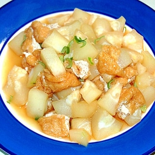 冬瓜と油揚げでシンプルな煮物!冬瓜の油揚げ煮