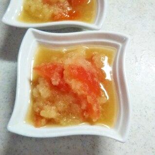 おろしトマトの酢の物
