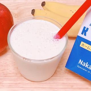 りんご&バナナ甘酒スムージー