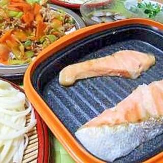 焼鮭!(ニュークックアートプラス★レンジで作る)
