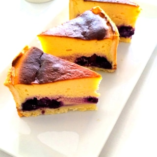 米粉の☆ブルーベリーチーズケーキ☆