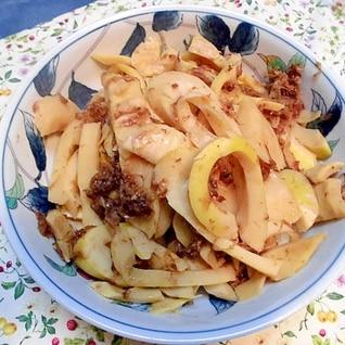 黒竹のこ の カツオぶし煮