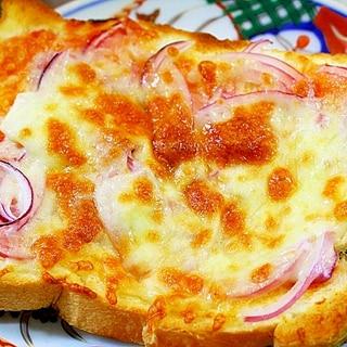 玉葱だけのピザトースト