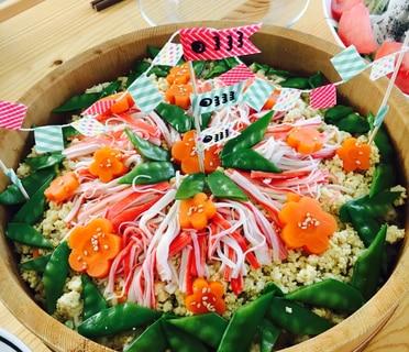 子どもの日・雛祭りにオススメ!華やかちらし寿司