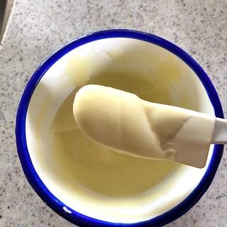 ホワイトチョコレートのガナッシュ