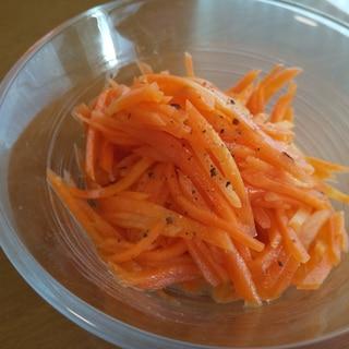 人参だけ*簡単サラダ