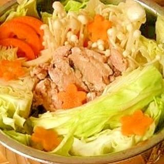 美味しいダイエット鍋☆キャベツとサバ缶
