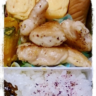 ささみのレモンソテー☆5分で出来るお弁当のおかず
