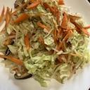粗挽きコショウで野菜簡単炒め!
