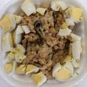 うずら卵と塩昆布納豆☆