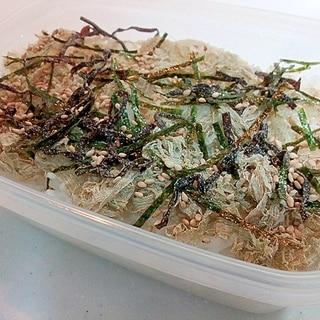 お弁当 昆布と海苔と白ごまのご飯
