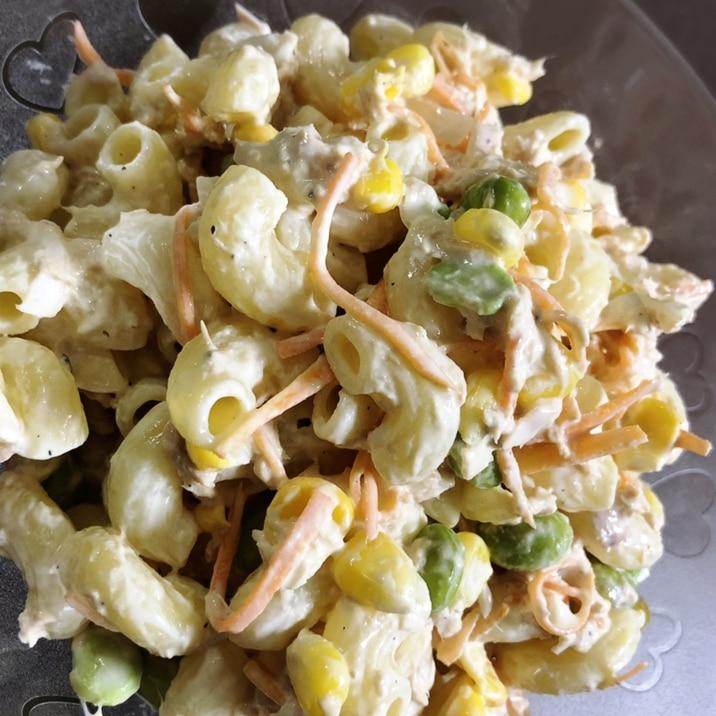 サラダ 人気 マカロニ レシピ