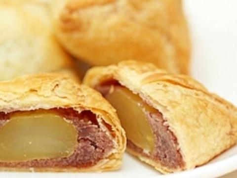 栗とあんこを包んで焼く和風パイ「栗いっパイ」