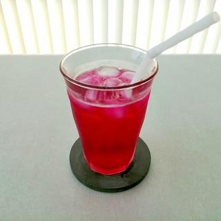 リンゴ酢☆しそジュース