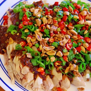 #3 中国人がつくる「口水鸡」(よだれ鶏)