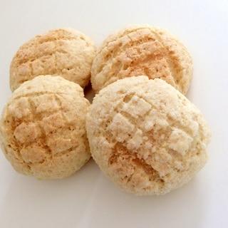 卵不使用!ホットケーキミックスで簡単メロンパン♪