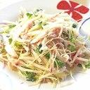 時短で作れるサラダ!ダブル大根のツナマヨサラダ♪