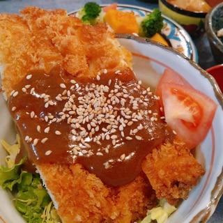 お惣菜チキンカツで♪デミソースチキンカツ丼☆