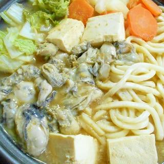 冬の贅沢 かき味噌なべ