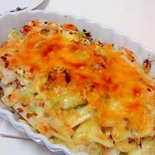 長芋とキャベツ☆チーズ焼き