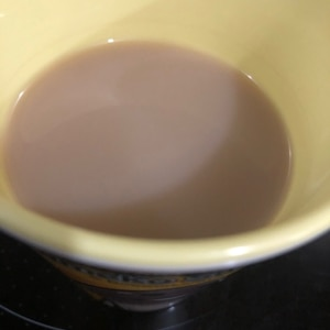 甘〜い ミルクコーヒー
