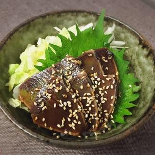 お魚を美味しく❁* 〜カツオの漬け〜