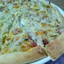 簡単!グラタンピザ!