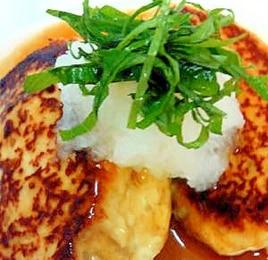 和風あんかけ☆豆腐ハンバーグ