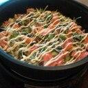 ホットプレートで作るアボカドとサーモンの彩りご飯♪