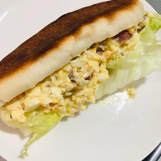 卵サンドパニーニ