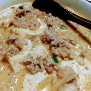 ヘルシー志向なあなたに♪担々豆腐スープ
