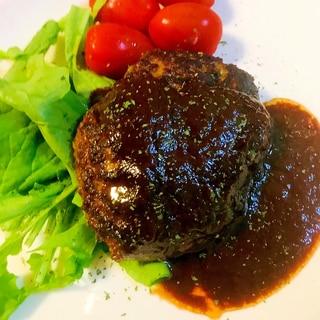 挽肉消費レシピ●ざっくりつくるハンバーグ&ソース