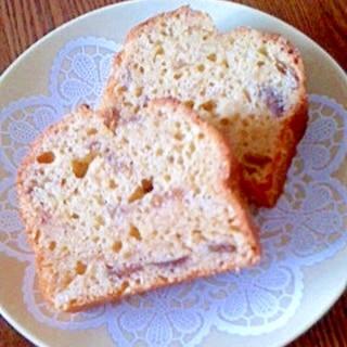 いちじくジャムのバターケーキ