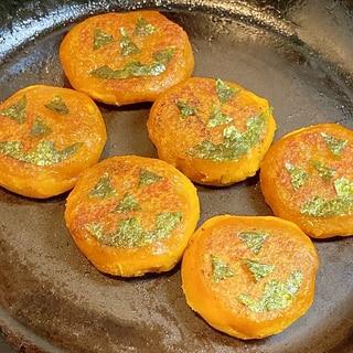 定番アレンジ★ハロウィンかぼちゃ餅