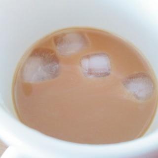 ドリップコーヒーでアイスカフェオレ☆