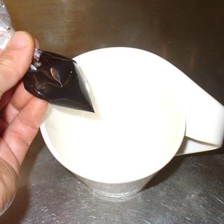 材料2つ!調整ココアで簡単チョコソース