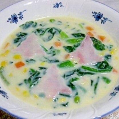 クリスマス★コーンスープ