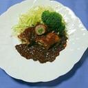 ヨウサマの『タニタ式』赤ワインの煮込豚肉野菜巻き