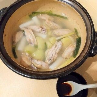 タッハンマリ風鍋(辛くない韓国料理)