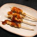 鶏皮・塩胡椒だけ♪フライパンで鶏皮のくるくる焼き◎