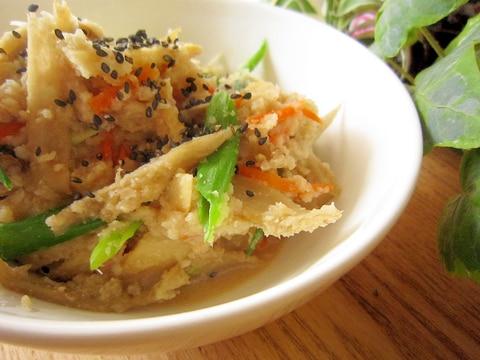 定番和食☆根菜タップリ卯の花煮