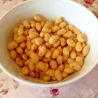お豆腐屋さんに教えてもらった♪簡単大豆の戻し方