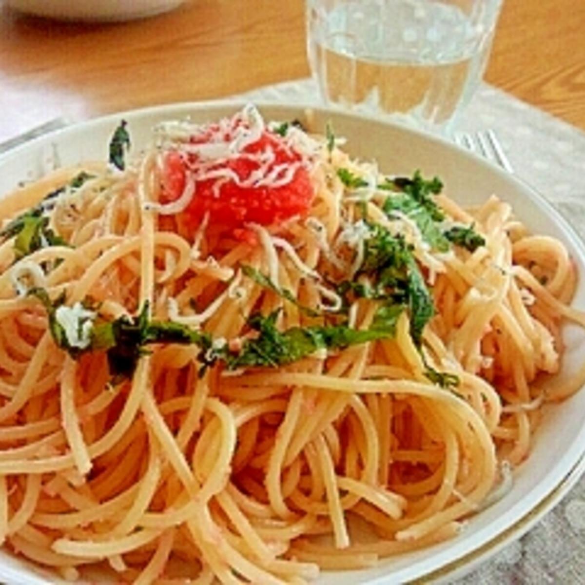 レシピ たらこ スパゲティ