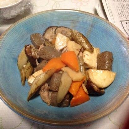 筑前煮だいすきです!美味しかったです!ごちそうさまでした!