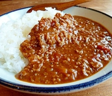 簡単★美味いと言わせるキーマカレー★