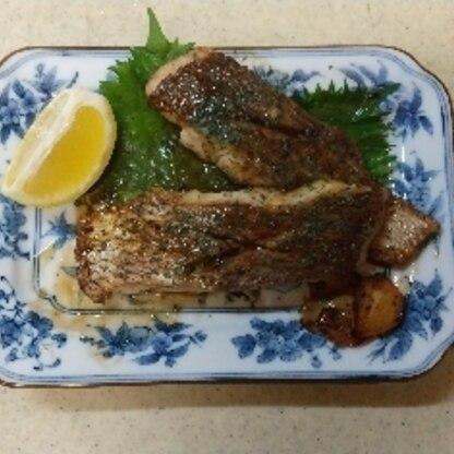 真鯛は釣って血抜きし、生臭い認識は無いです。まして、大物は3,4日寝かす程ですから。鯛料理をいろいろ試していますが、これはなかなかでした。「鯛の障子」もお勧め。