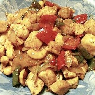 タイ風鶏肉のカシューナッツ炒め-簡単エスニック